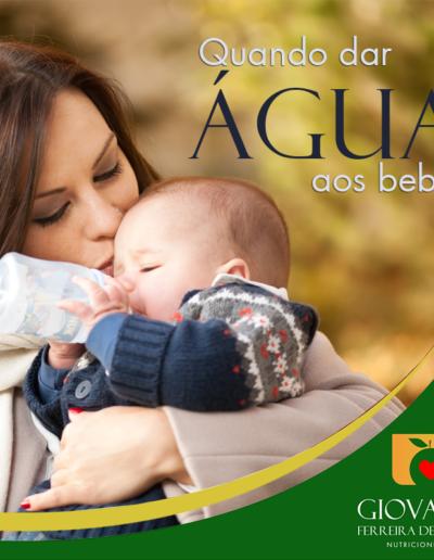 água para bebês
