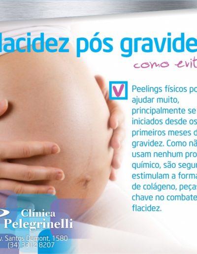 flacidez pós gravidez